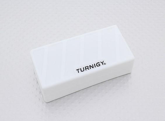 Turnigy morbido silicone Lipo Batteria Protector (1000-1300mAh 3S bianco) 74x36x21mm