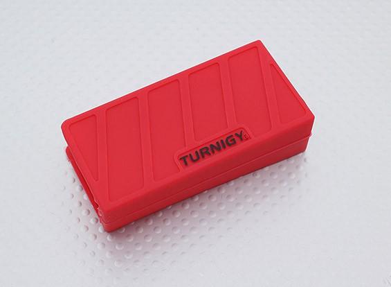 Turnigy morbido silicone Lipo Batteria Protector (1000-1300mAh 3S Rosso) 74x36x21mm