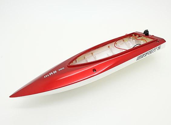 Serpente 2 Mini V-Hull barca di corsa 360 millimetri (Hull ricambio solo)