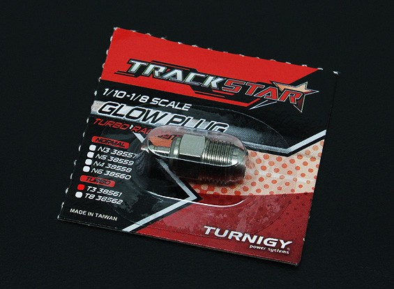 Trackstar 1/10 ~ 1/8 scala Turbo Candela No.3 (HOT)