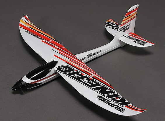 Super Kinetic Aerobatic Sport Glider Airplane EPO 815 millimetri (PNF)