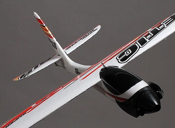 Super Kinetic Aerobatic Sport Glider Airplane EPO 815 millimetri (ARF)