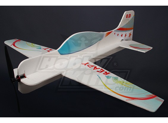 Super 3D Flatform EPO R / C aereo w / motore brushless