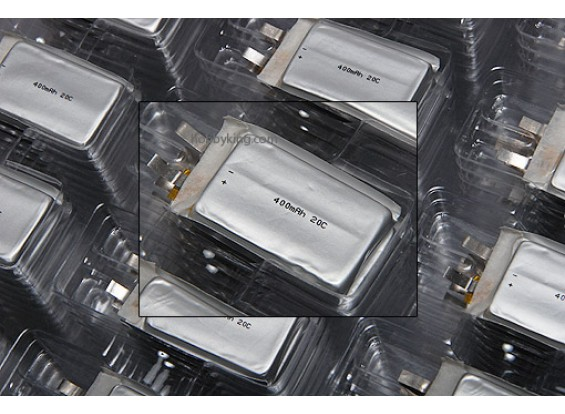 Cellulare ZIPPY 400mAh 20C singolo