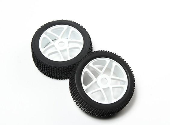 HobbyKing® 1/8 White Star per ruote e pneumatici off-road 17 millimetri Hex (2pc)