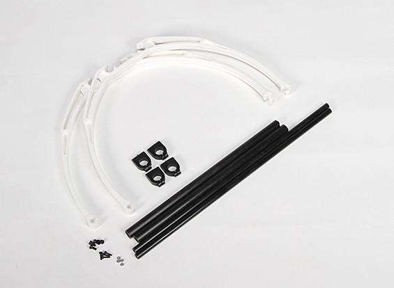 M200 Arto di granchio atterraggio Set DIY (bianco)