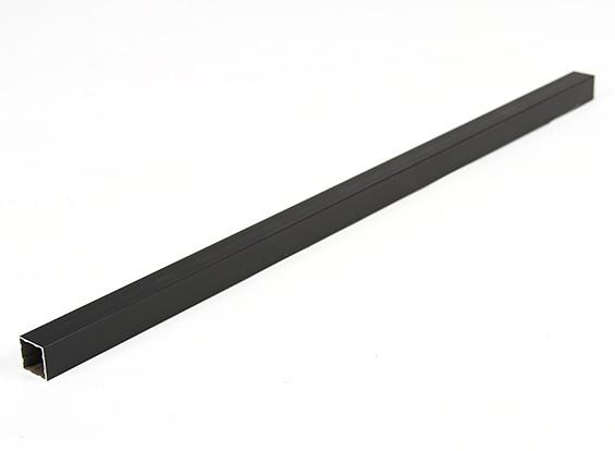 Alluminio Tubo quadrato fai da te 15x15x400mm multi-rotore (nero)