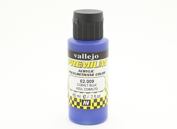 Vallejo Premium colore vernice acrilica - Cobalt Blue (60ml)