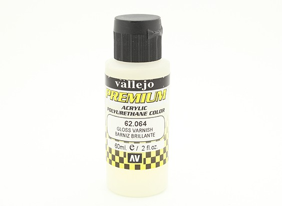 Vallejo Premium colore acrilico Vernice - Gloss (60ml)