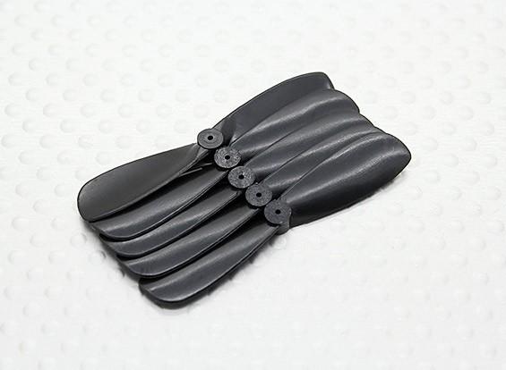 45 millimetri Pocket-Quad Prop CW rotazione (dalla parte posteriore) - Nero (5pc)