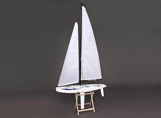 Vetroresina RC Yacht a vela Monsoon 900 millimetri (ARR)