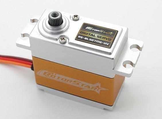 RotorStar RS-BL507MG HV Brushless Digitale Servo 70g / 18kg / 0.04sec