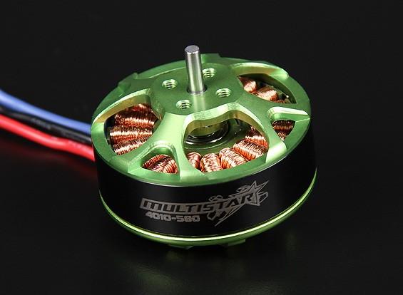 4010-580KV Turnigy Multistar 22 Pole Brushless Multi-rotore del motore con i cavi di lunghezza superiore