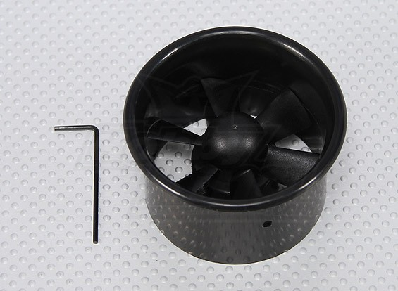 EDF Ducted Fan Unit 6 lama 2.17inch / 55 millimetri