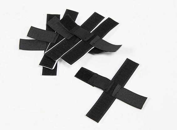 Hook & Loop cinghia elastica di fissaggio (autoadesivo) (5pcs)