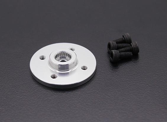 Super Heavy Duty CNC metallo Servo Disk - JR / Sanwa (Silver)