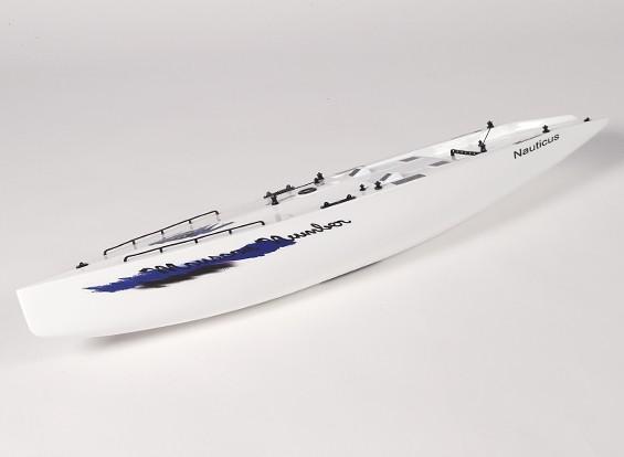 Vetroresina RC Yacht a vela Monsoon - Hull (Include due servi)