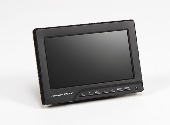 Monitor LCD FieldView 777RX da 7 pollici per FPV 800 x 480 con built-in 5.8GHz Rx