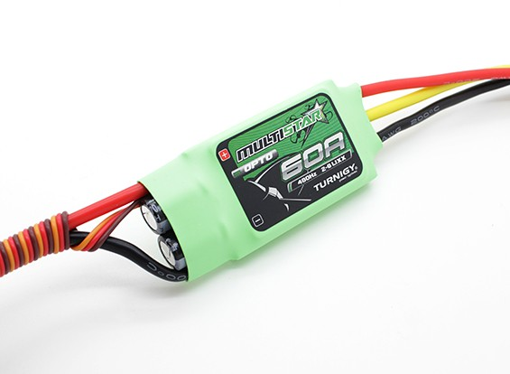 Turnigy Multistar 60 Amp Multi-rotore Brushless ESC 2-6S (opto)