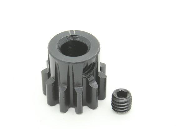 11T / 5mm M1 acciaio temperato pignone (1pc)