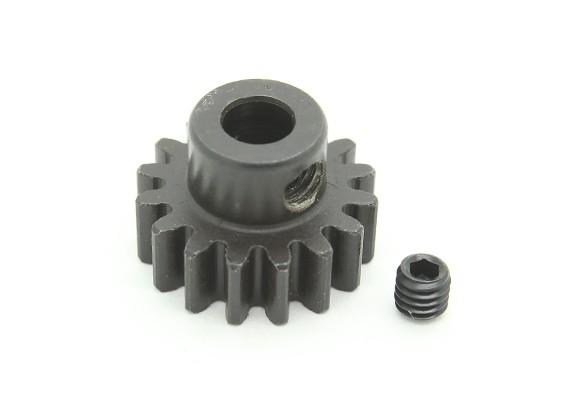 16T / 5mm M1 acciaio temperato pignone (1pc)