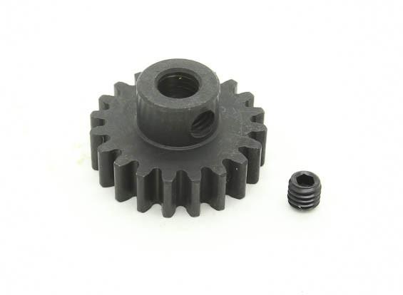 20T / 5mm M1 acciaio temperato pignone (1pc)