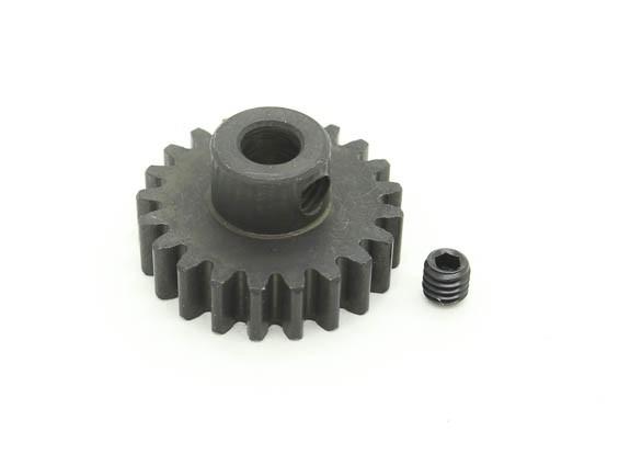 21T / 5mm M1 acciaio temperato pignone (1pc)