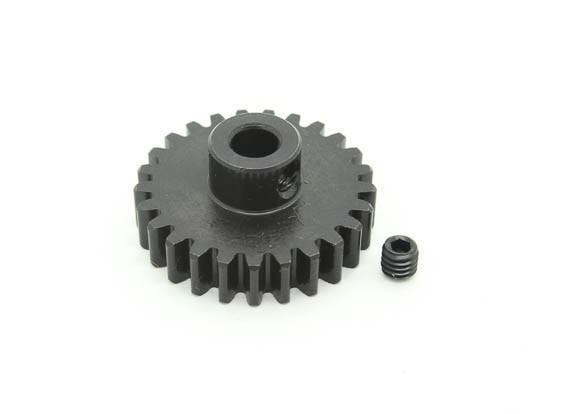 25T / 5mm M1 acciaio temperato pignone (1pc)