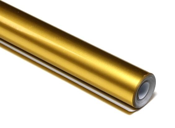 L'oro di copertura pellicola metallica (5MTR) 028-4