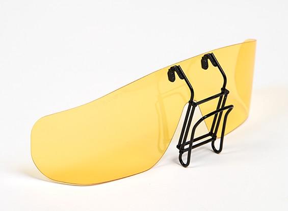 Turnigy clip-on occhiali da sole polarizzati (giallo)