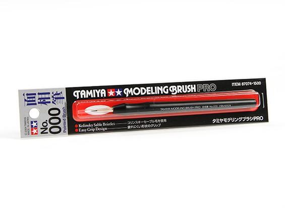 Tamiya Modeling Brush Pro (No. 000 a punta)