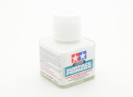 Tamiya Liquid Primer White (40ml)