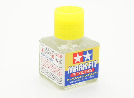 Tamiya Mark Fit (Strong) Soluzione Decal Application