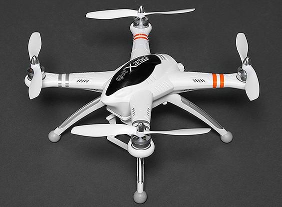 Walkera QR X350 FPV GPS Quadcopter w / DEVO F7 5.8Ghz video TX e GoPro Adapter / Monte (Mode2) (RTF)