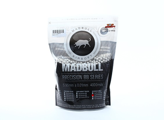 Madbull precisione 0.25g biodegradabile BB 4000rds Bag