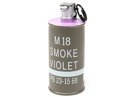 Dytac Dummy M18 decorazioni Smoke Grenade (viola)