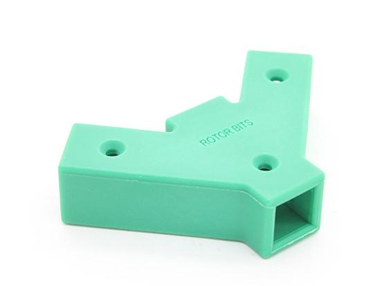 RotorBits 45 gradi connettore Y 2 facciate (verde)