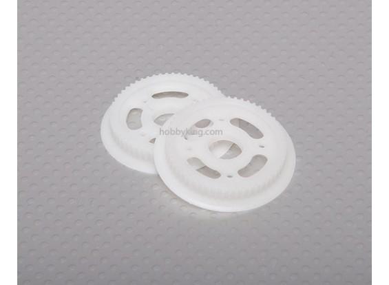 Coda di autorotazione drive Gear (2 pezzi)