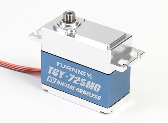 Turnigy ™ TGY-DS725MG Coreless DS / MG Servo w / involucro in lega di 18 kg / 0.07sec / 68g