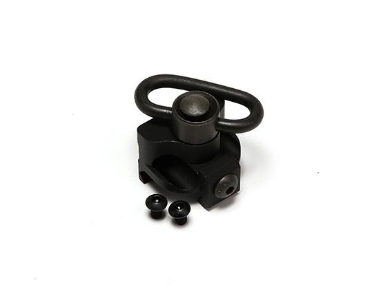 Elemento EX257 M7 Monte Light Scout per M300 / M600 torcia elettrica (nero)