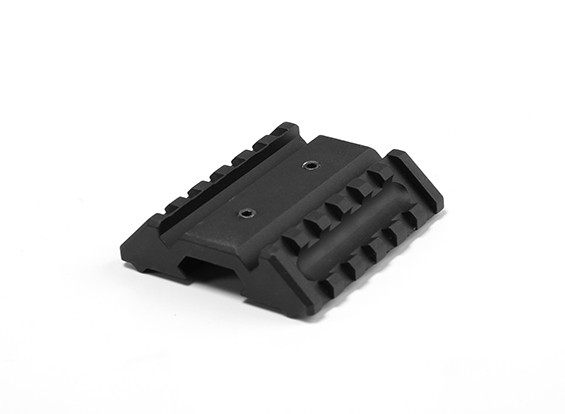 Elemento OT0422 doppio Offset montaggio laterale (Nero)
