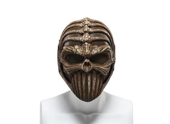 FMA rete metallica maschera completa (Spine Tingler)