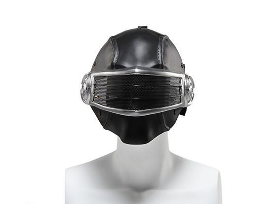 FMA rete metallica maschera completa (Templari, Blu)