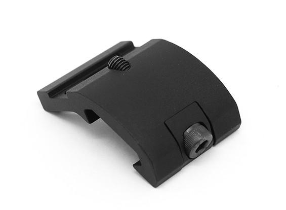 Elemento EX263 ingranaggi stile settore supporto della torcia elettrica per M300 M600 (nero)