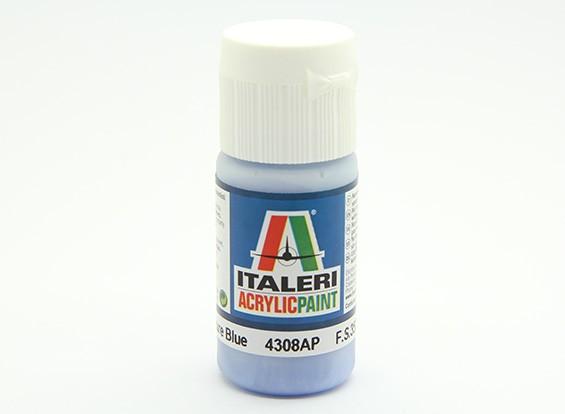 Italeri vernice acrilica - piatto azzurro