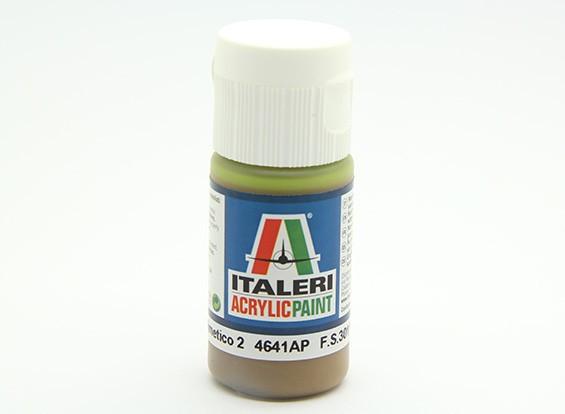 Italeri vernice acrilica - piatto Marrone Mimetico 2