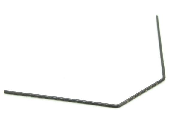 RAGGI X T4 2014 1/10 Touring Car - barra antirollio posteriore 1,6 millimetri - T4