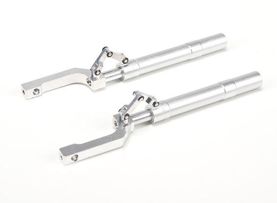 Lega Oleo Struts Offset con Trailing collegamento 155 millimetri ~ 12,7 millimetri Pin (2 pezzi)