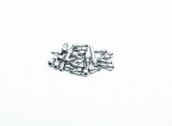 KDS Innova 550, 600, 700 acciaio Linkage Ball Set 550-58TTS (1set)