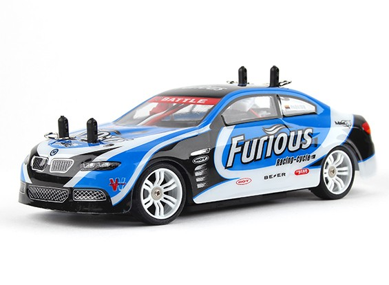 Turnigy TZ4 AWD 1/28 Mini Touring Car - Telaio di plastica Version (RTR)